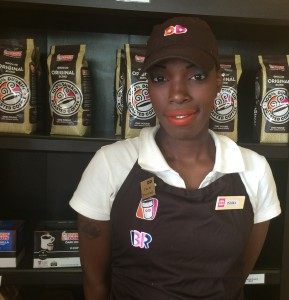 Headshot of a Dunkin' Donuts staff member
